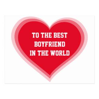 To The Best Boyfriend In The World Valentine Cards