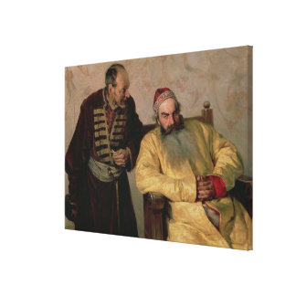 To the Boyar with a Denunciation, 1904 Canvas Print