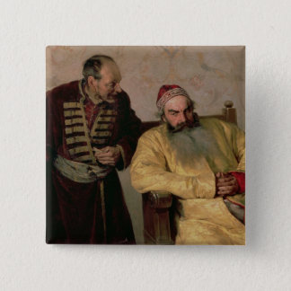To the Boyar with a Denunciation, 1904 Pinback Button