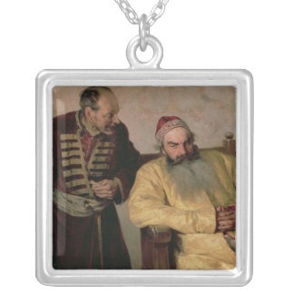 To the Boyar with a Denunciation, 1904 Silver Plated Necklace