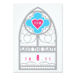 To the Chapel Save the Date Personalized Announcement