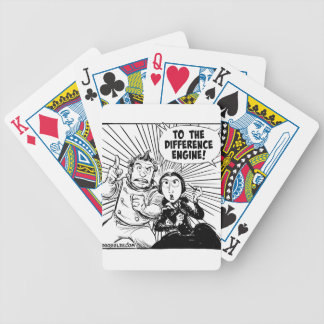 To The Difference Engine Panel Bicycle Playing Cards