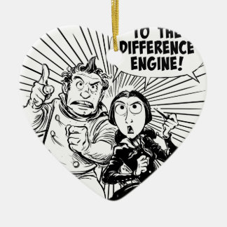 To The Difference Engine Panel Ceramic Ornament