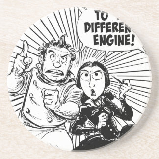 To The Difference Engine Panel Drink Coaster