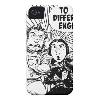 To The Difference Engine Panel iPhone 4 Cover