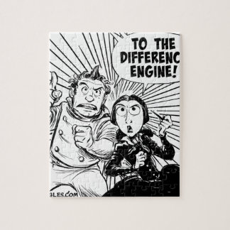 To The Difference Engine Panel Jigsaw Puzzle