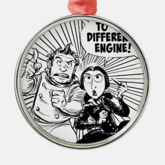 To The Difference Engine Panel Metal Ornament
