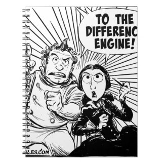 To The Difference Engine Panel Notebook
