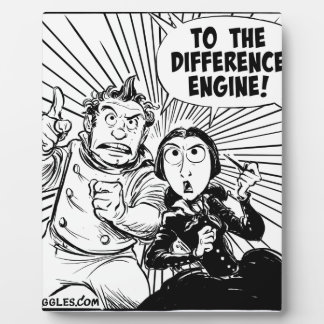 To The Difference Engine Panel Plaque