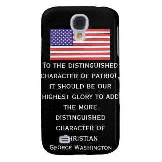 To the distinguished character of patriot, it shou galaxy s4 case