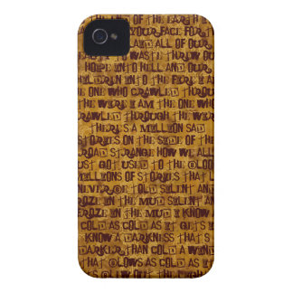 to the end of the earth iPhone 4 cover