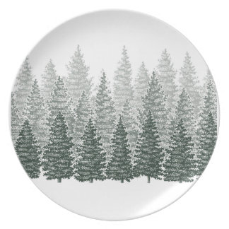 TO THE FOREST PARTY PLATES