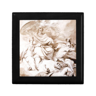 To the Genius of Franklin by Jean-Honore Fragonard Gift Boxes