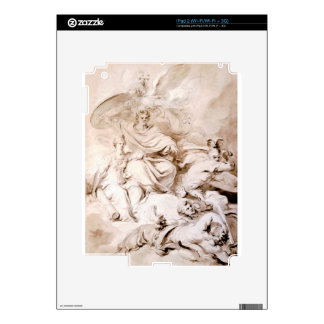 To the Genius of Franklin by Jean-Honore Fragonard iPad 2 Skins