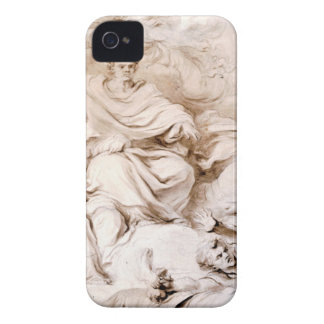 To the Genius of Franklin by Jean-Honore Fragonard iPhone 4 Covers