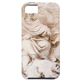 To the Genius of Franklin by Jean-Honore Fragonard iPhone 5 Cover