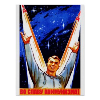 To The Glory of Communism Poster