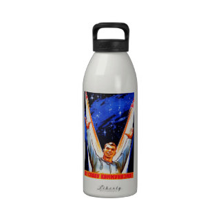 To The Glory of Communism Water Bottles