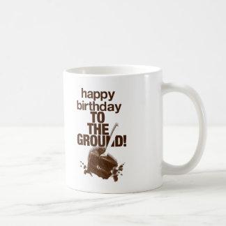 To the Ground Classic White Coffee Mug