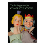 To the happy coupleCONGRATULATIONS Card... Greeting Card