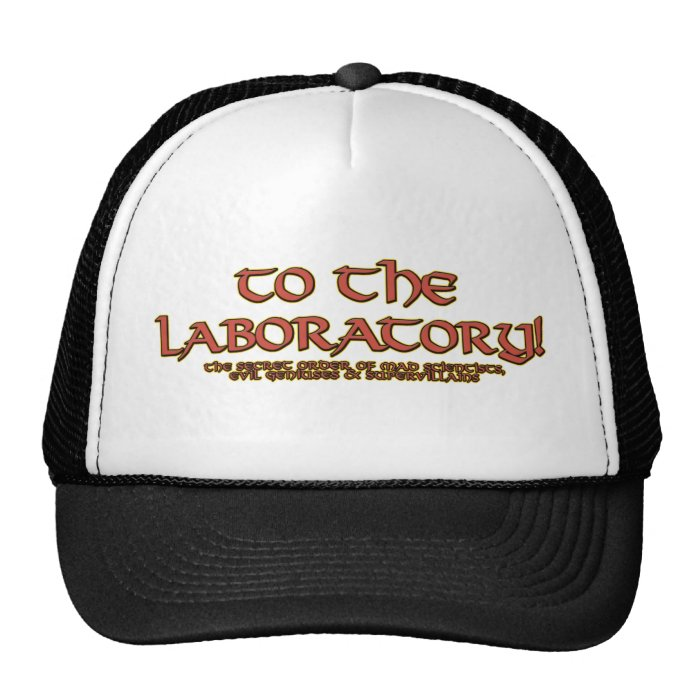 To the Laboratory! Hats