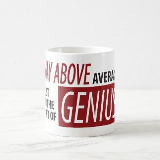 To The Left Of Genius Coffee Mug