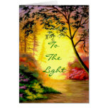 To The Light Card
