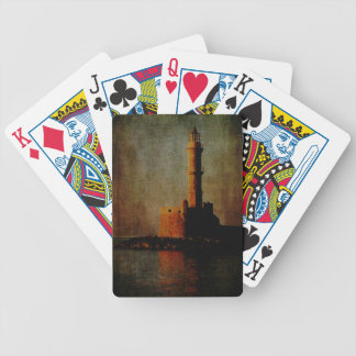 To the Lighthouse Bicycle Playing Cards