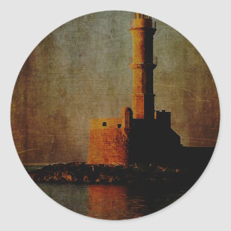 To the Lighthouse Classic Round Sticker