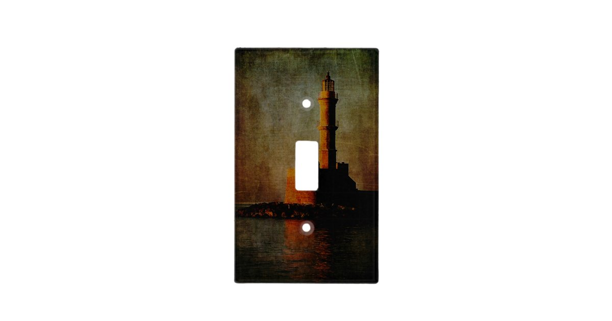 To the lighthouse light switch cover zazzle for Lighthouse switch plates