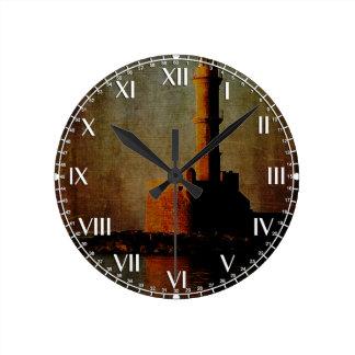 To the Lighthouse Round Clocks