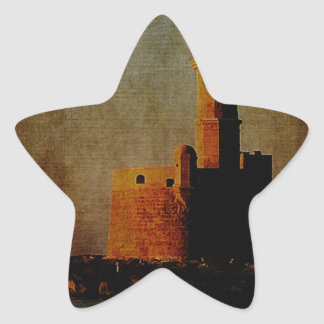To the Lighthouse Star Sticker