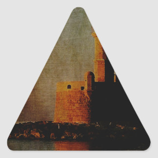 To the Lighthouse Triangle Sticker