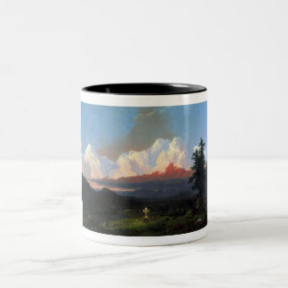 To the Memory of Cole 1848 Two-Tone Coffee Mug