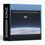 To The Moon 3 Ring Binder