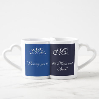 To the Moon and Back Coffee Mug Set