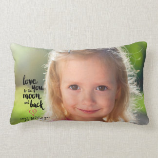 To the Moon and Back | Father's Day Photo Pillow