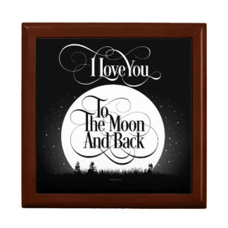 To The Moon And Back Gift Box
