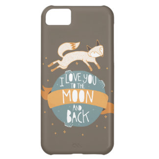 """""""To the moon and back"""" iPhone 5C Cover"""