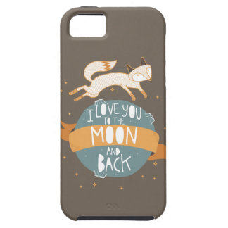 """""""To the moon and back"""" iPhone SE/5/5s Case"""