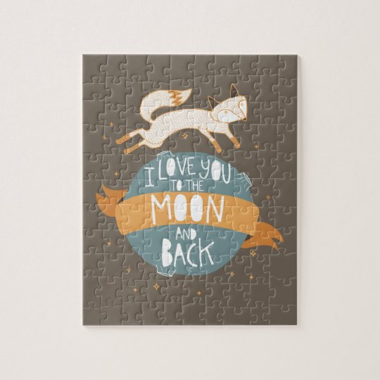 """""""To the moon and back"""" Jigsaw Puzzle"""