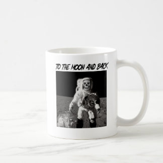To The Moon And Back Classic White Coffee Mug