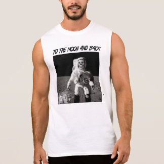 To The Moon and Back Sleeveless Tees