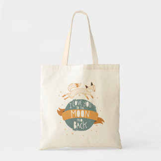 """""""To the moon and back"""" Tote Bag"""