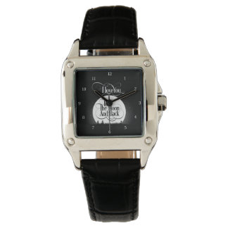 To The Moon And Back Wrist Watches