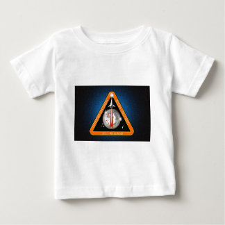 TO-THE-MOON-BLK.png Baby T-Shirt