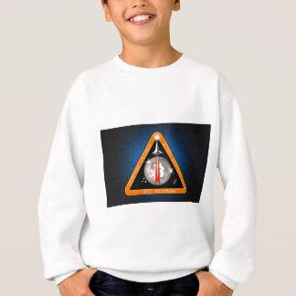 TO-THE-MOON-BLK.png Sweatshirt