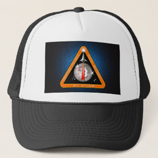 TO-THE-MOON-BLK.png Trucker Hat