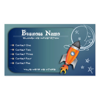 To the Moon Business Cards