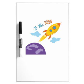 To the Moon Dry-Erase Boards